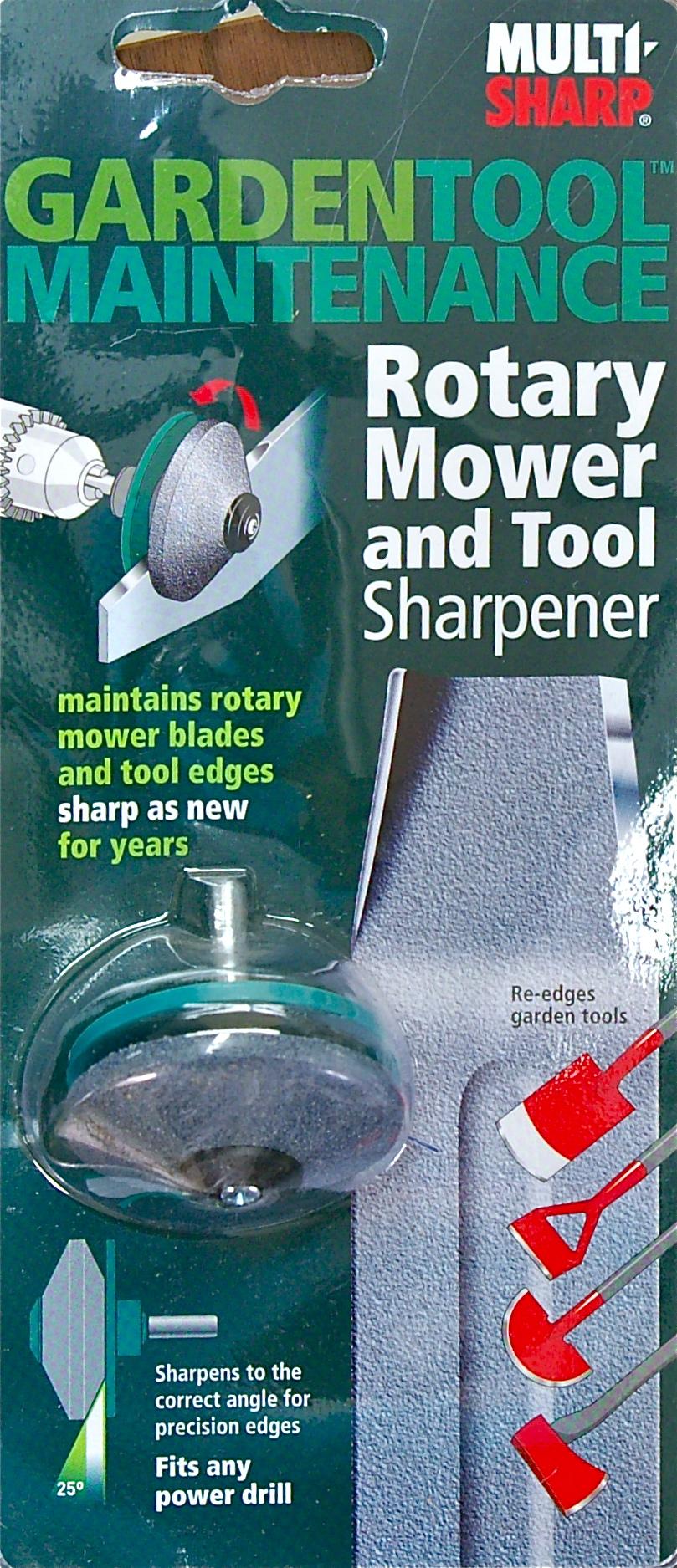 ... Garden Tool Sharpener · Multi Sharp Mower And Tool Sharpener For A  Power Drill