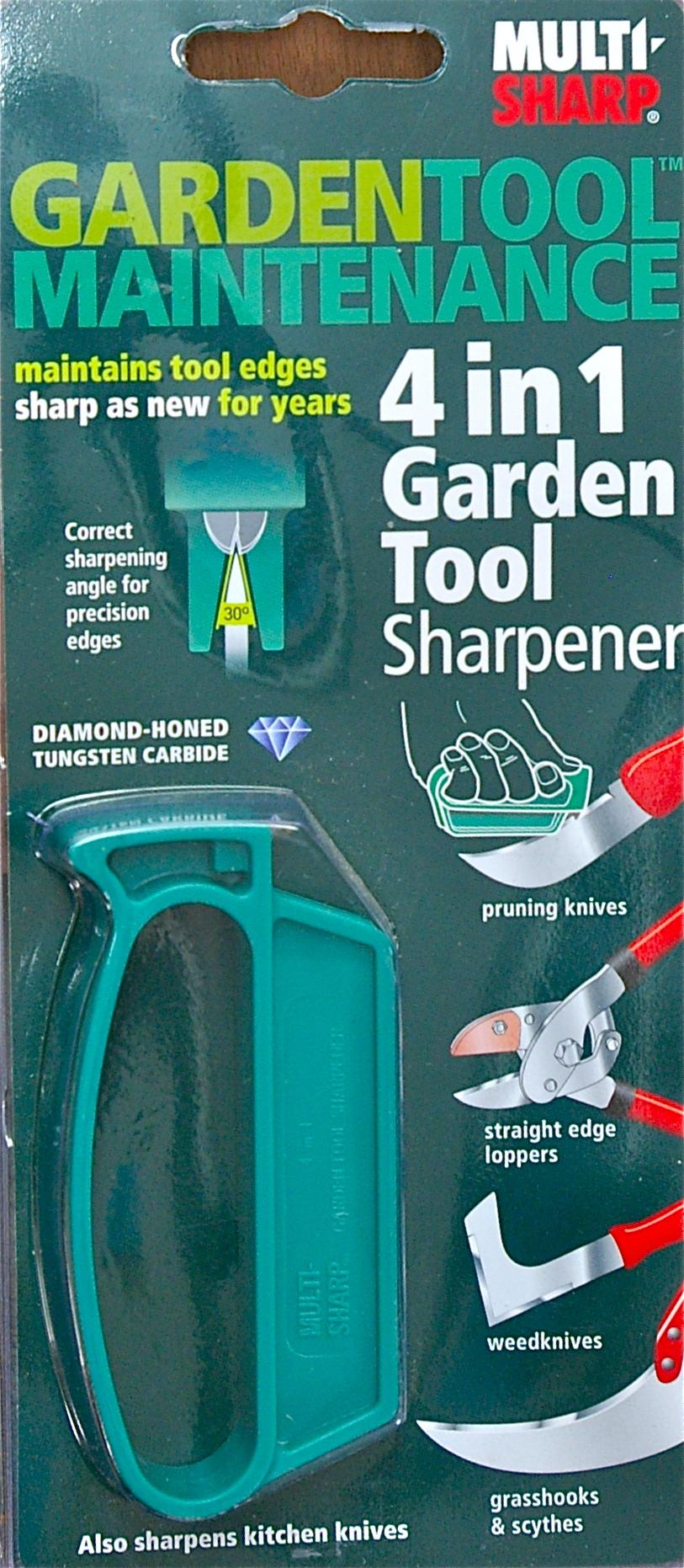 Multi Sharp 4 In 1 Garden Tool Sharpener Garden Shop Online