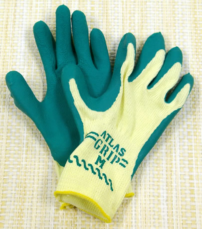 Green Garden Gloves Gloves